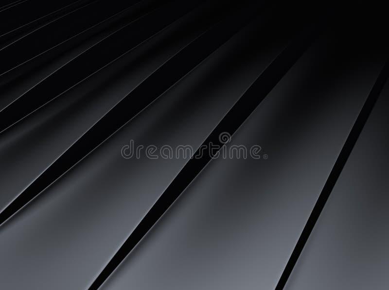 Striped metallic background stock illustration