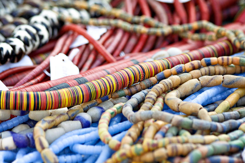 Download Striped Necklace stock image. Image of jewelry, colors - 21776339