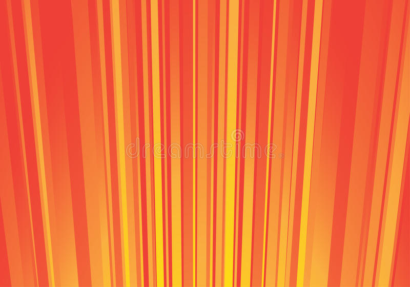 Download Striped orange background stock vector. Image of modern - 9788647