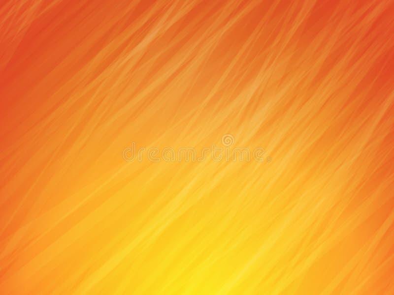 Striped orange pattern stock illustration