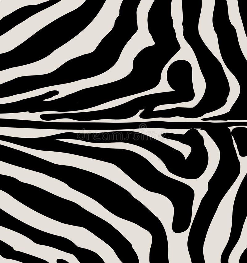 Download ZEBRA PRINT stock vector. Image of backgrounds, black - 69319200