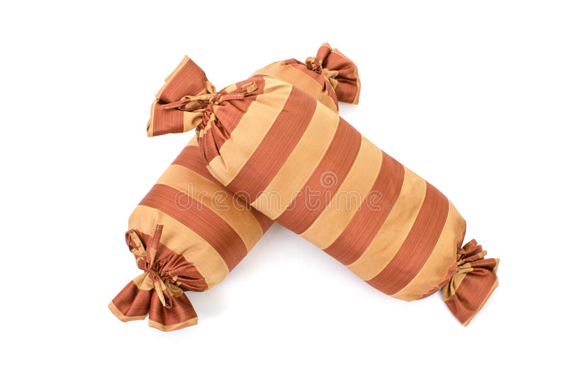 Striped Pillow Stock Images