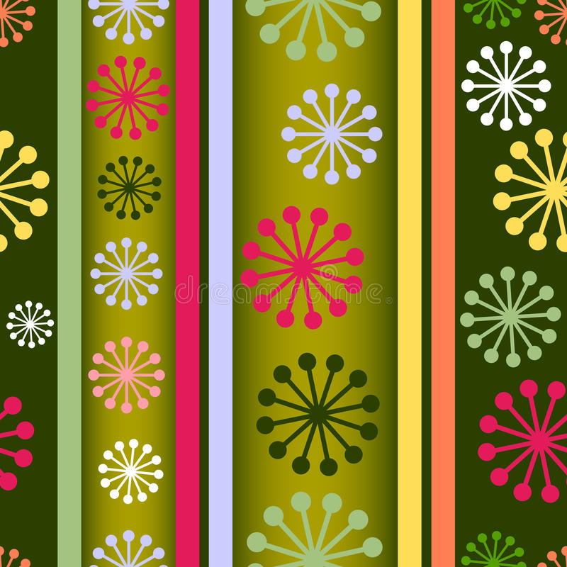 Download Striped Retro Seamless  Background (vector) Royalty Free Stock Images - Image: 11432859
