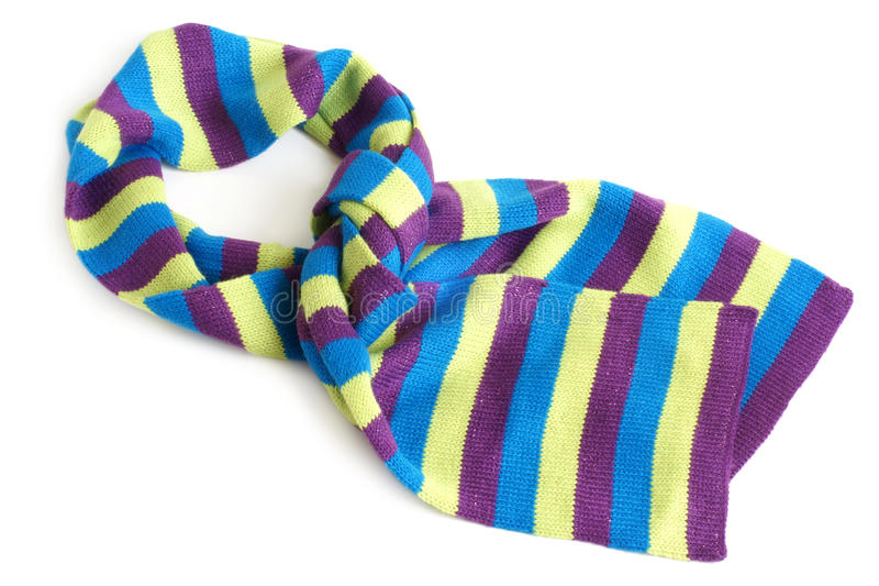 Download Striped scarf stock image. Image of children, fashionable - 22045673