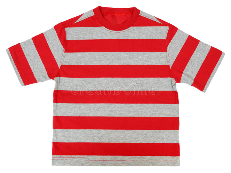 Striped Shirt Stock Photography