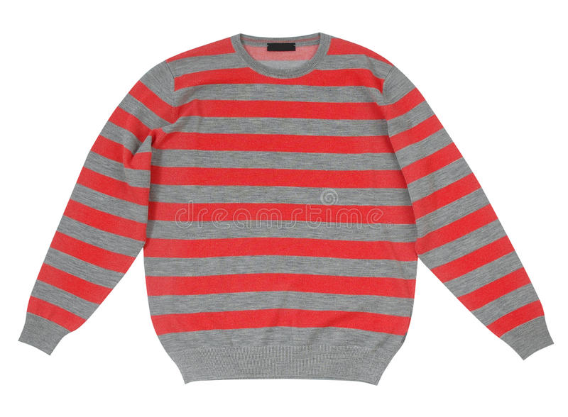 Striped sweater stock images