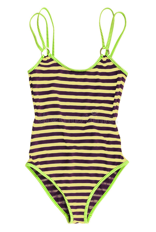 Download Striped swimsuit stock image. Image of lines, design - 28828925