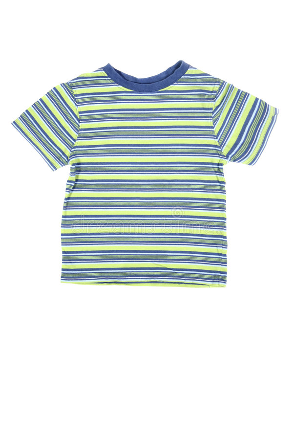 Striped t-shirt royalty free stock photography