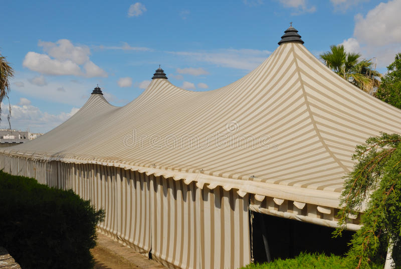 Striped Tent Stock Images