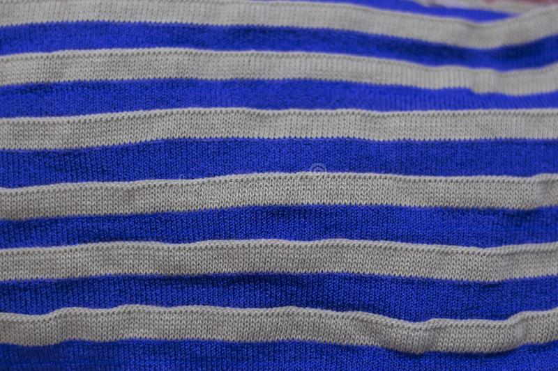 Striped texture of knitted fabric as a background.  royalty free stock photos