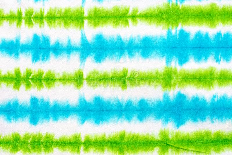 Striped tie dye pattern abstract background stock image