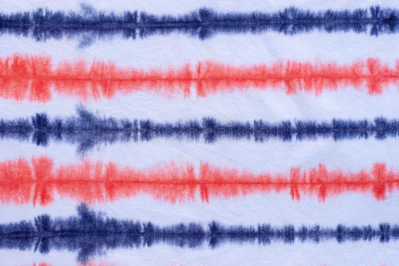 Striped tie dye pattern abstract background royalty free stock image