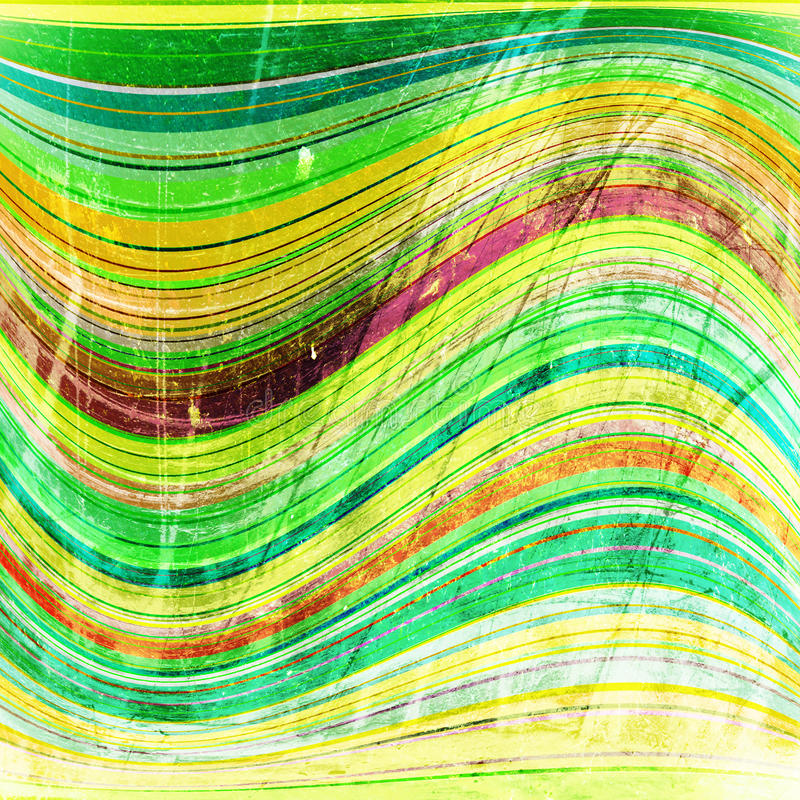 Striped wave stock photo