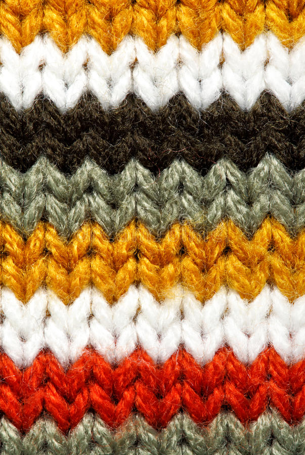 Free Striped Wool Texture Stock Images - 12982784