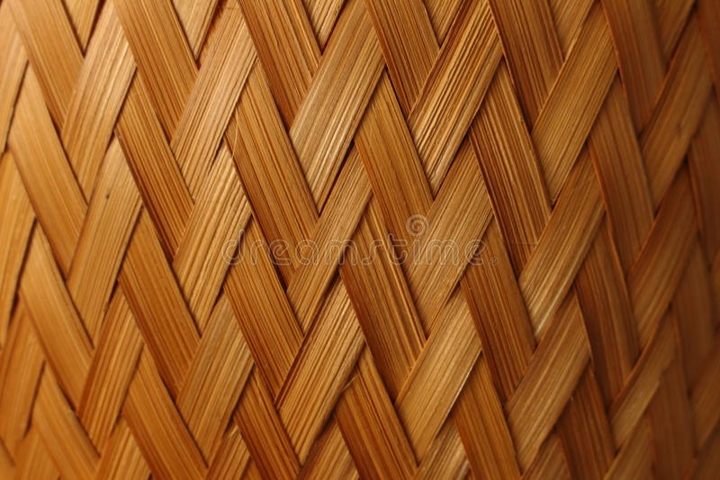 Striped woven. stock images