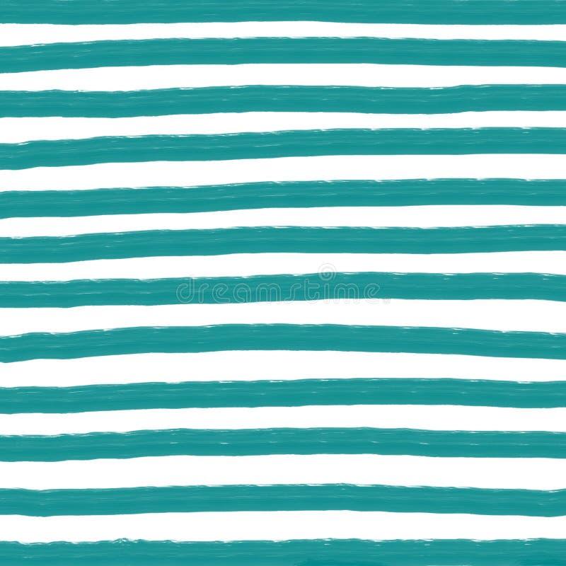Stripes цифровая бумага, предпосылка нашивок акварели, текстура нашивок бесплатная иллюстрация