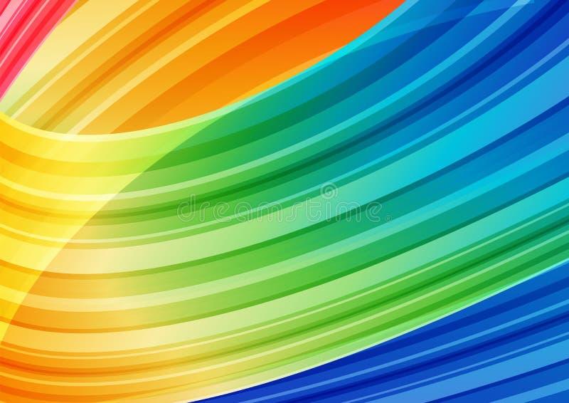 Stripes яркая предпосылка иллюстрация вектора