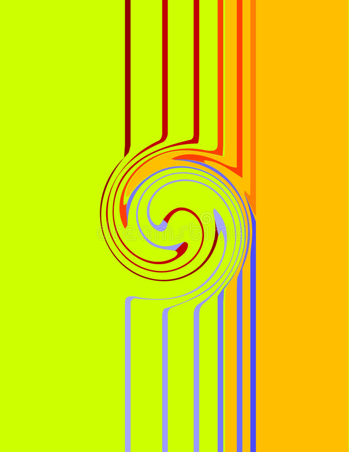 Download Stripes stock vector. Image of abstract, design, curve - 11519339