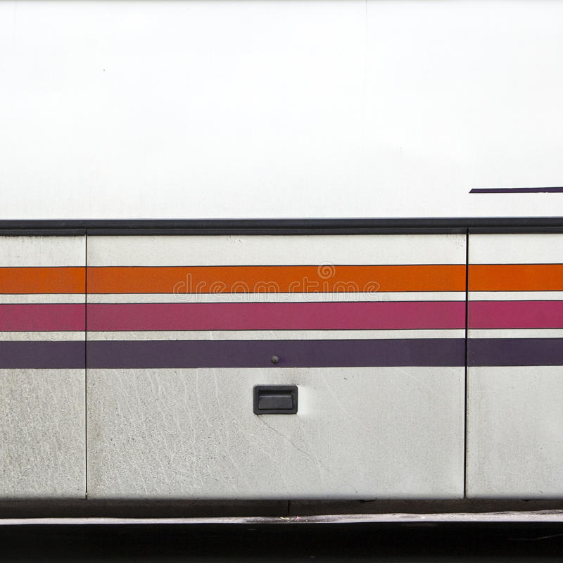 Download Stripes On A Bus Royalty Free Stock Image - Image: 14593616