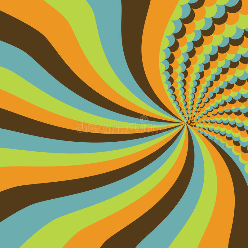 Download Stripes and circles stock illustration. Image of element - 12784417