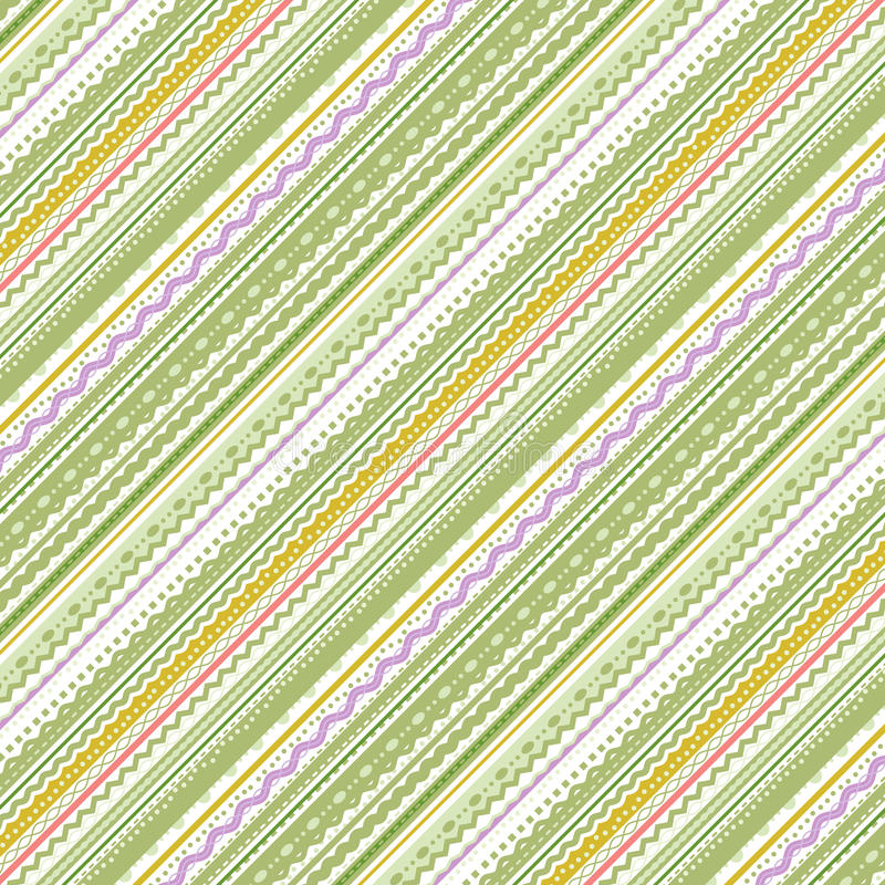 Download Stripes And Laces Green And White Background Stock Vector - Image: 32005214