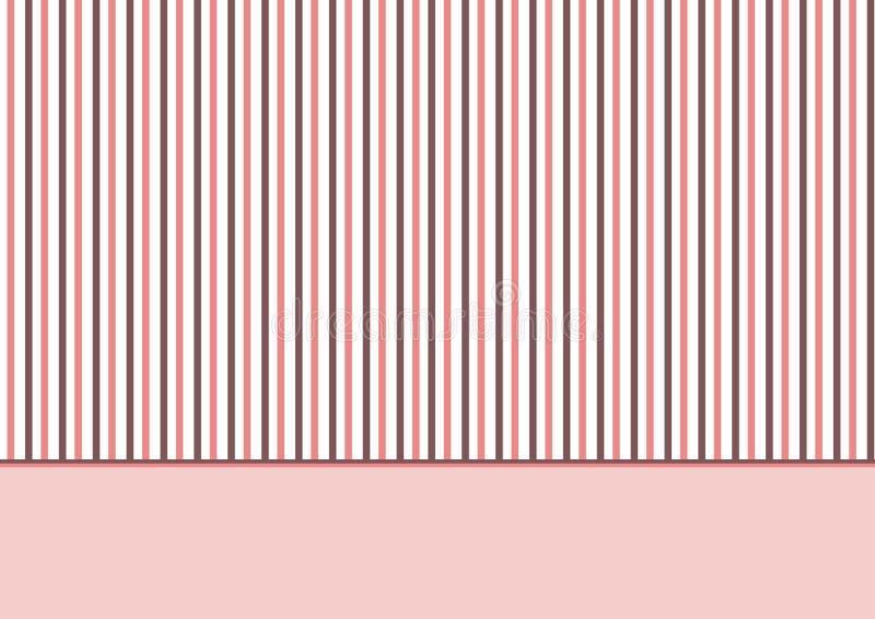Download Stripes pink brown stock illustration. Image of basic - 19959265