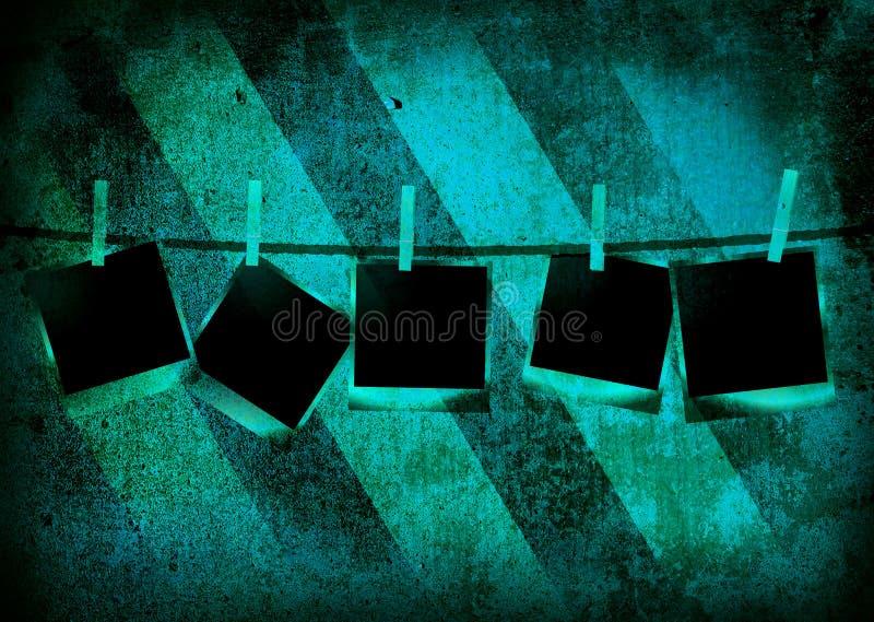 Download Stripped polaroid stock illustration. Illustration of green - 6789975