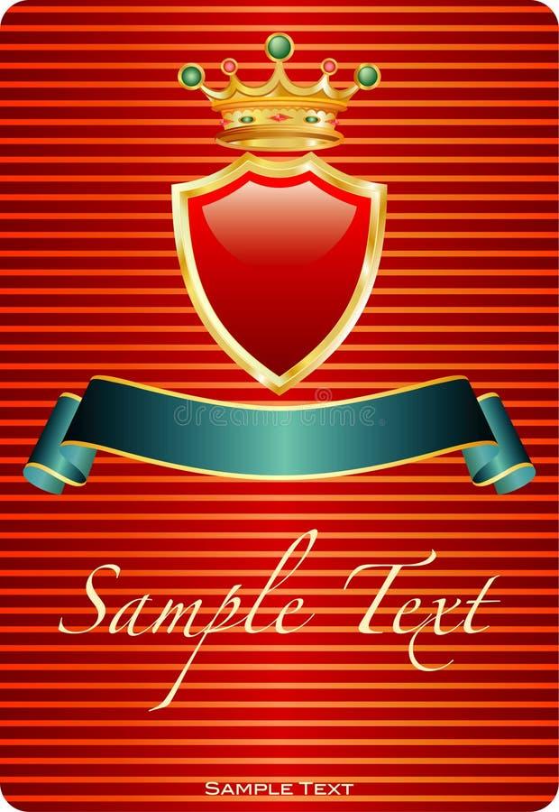 Stripredlabel ilustração royalty free