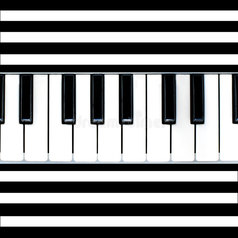 Download Stripy piano abstract stock illustration. Image of color - 14041664