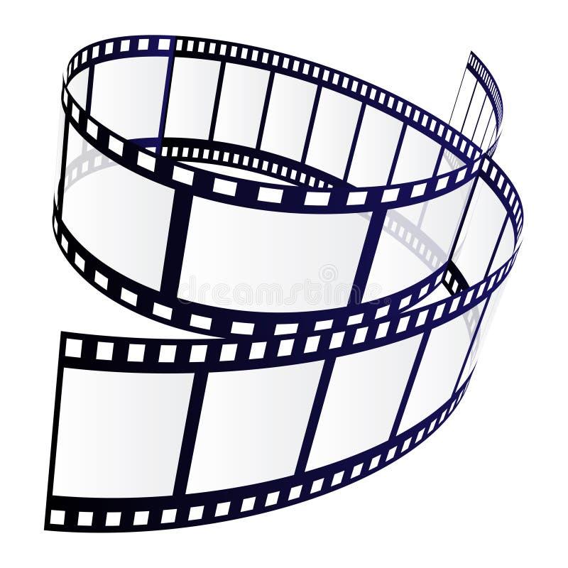 Striscia della pellicola immagini stock libere da diritti