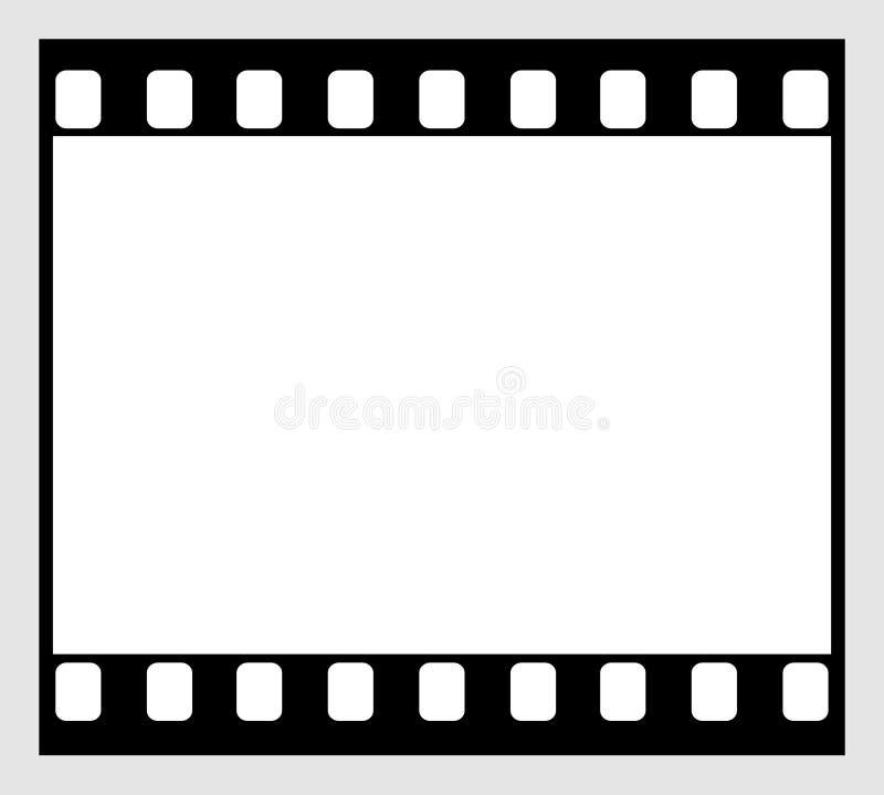 striscia della pellicola di 35mm illustrazione di stock