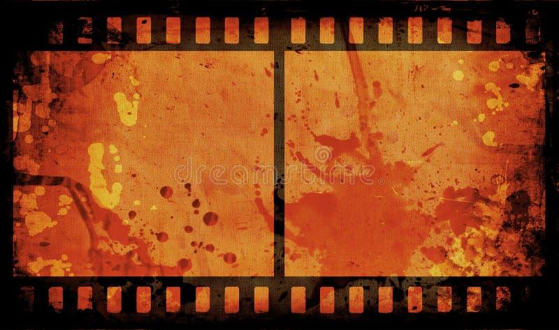 Striscia della pellicola di Grunge royalty illustrazione gratis