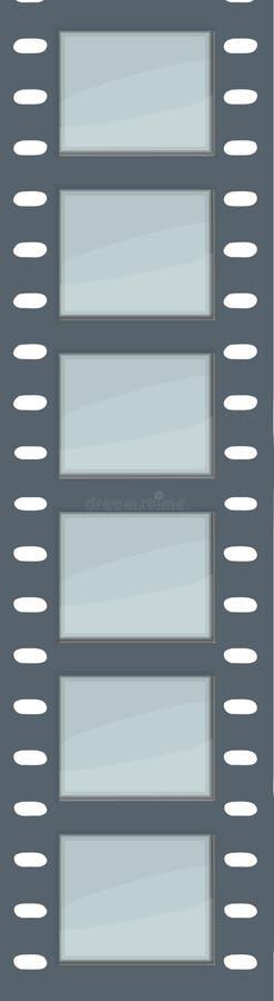 Striscia della pellicola di vettore illustrazione di stock