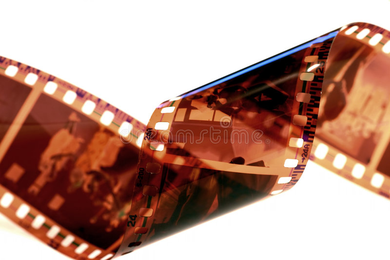 Striscia di Flilm fotografie stock libere da diritti