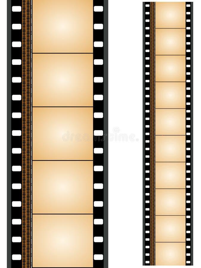 Striscia di pellicola illustrazione di stock