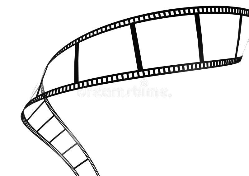Striscia di pellicola illustrazione vettoriale