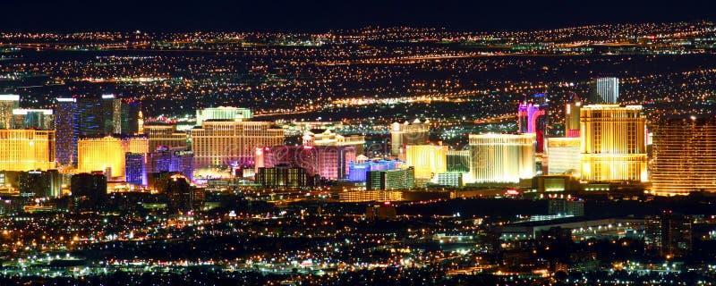 Striscia famosa di Las Vegas fotografie stock libere da diritti