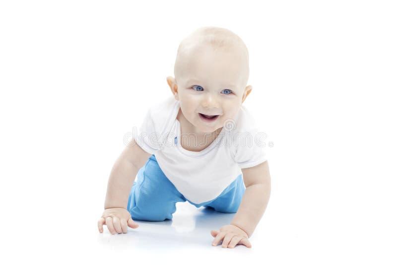 Strisciamento del bambino fotografia stock