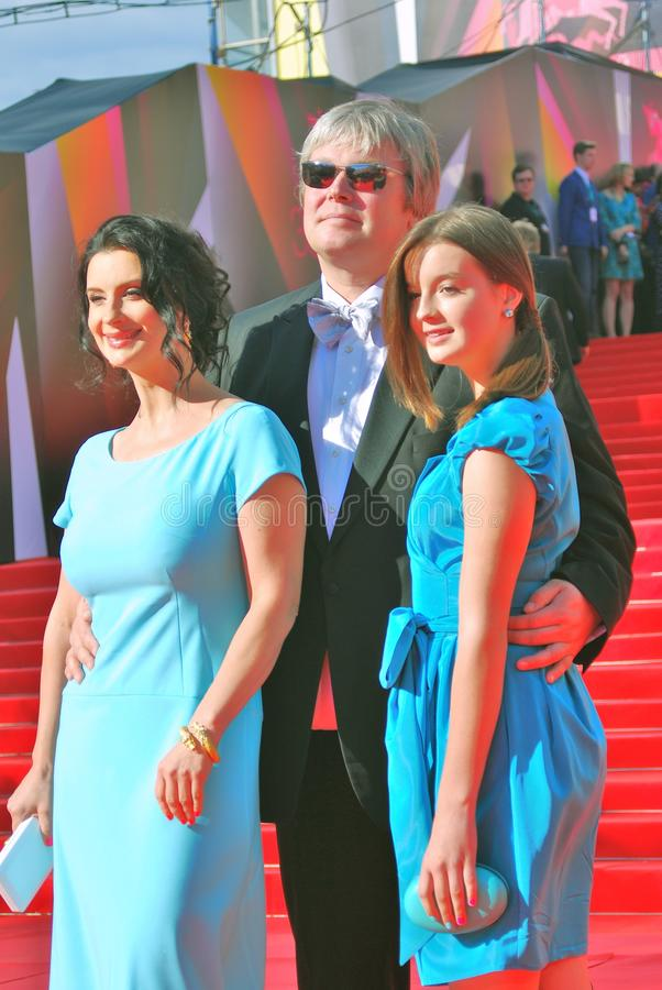 Download Strizhenovy At Moscow Film Festival Editorial Stock Photo - Image: 41511498