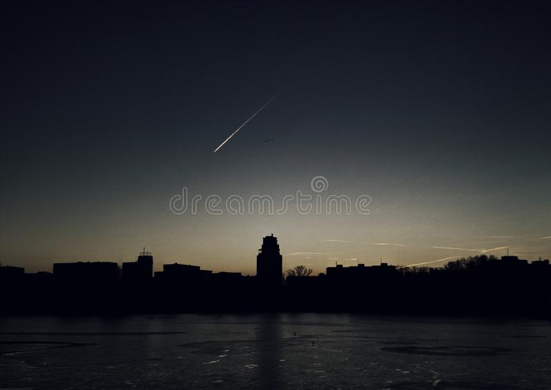 Strkovec lake night stock images