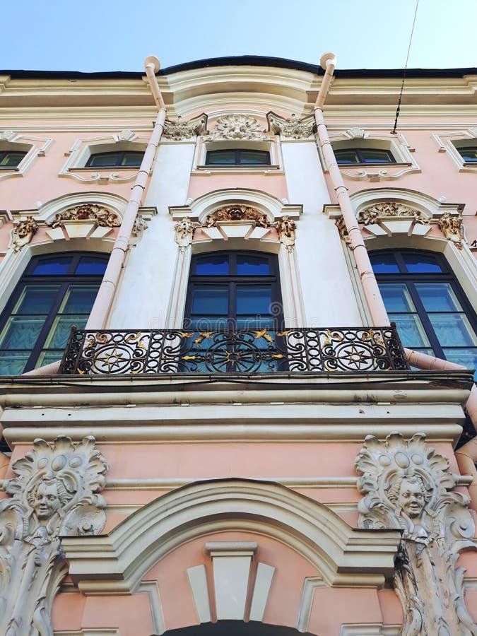 Stroganov pałac obrazy stock