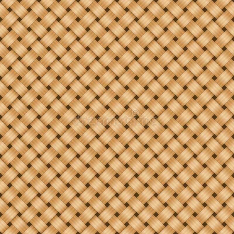 Strohtextilhintergrund. stockbild