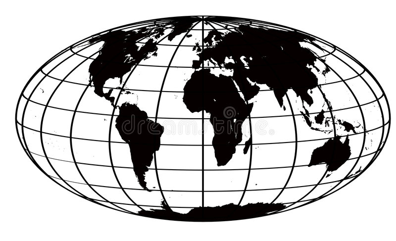 Stroke and black world map stock illustration illustration of world download stroke and black world map stock illustration illustration of world 2270144 gumiabroncs Gallery