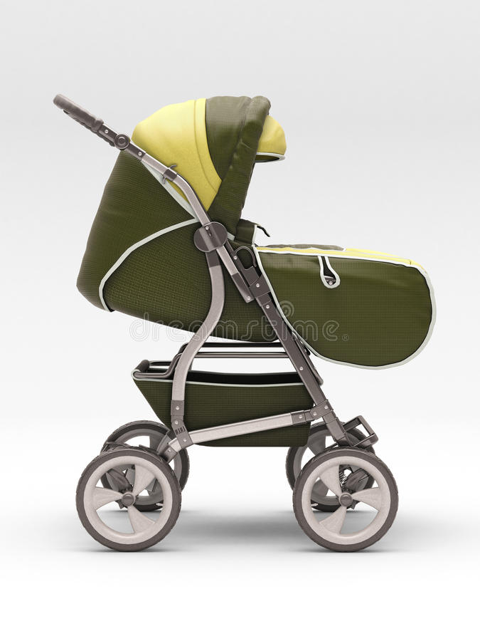 Download Stroller for baby stock illustration. Image of family - 28779323
