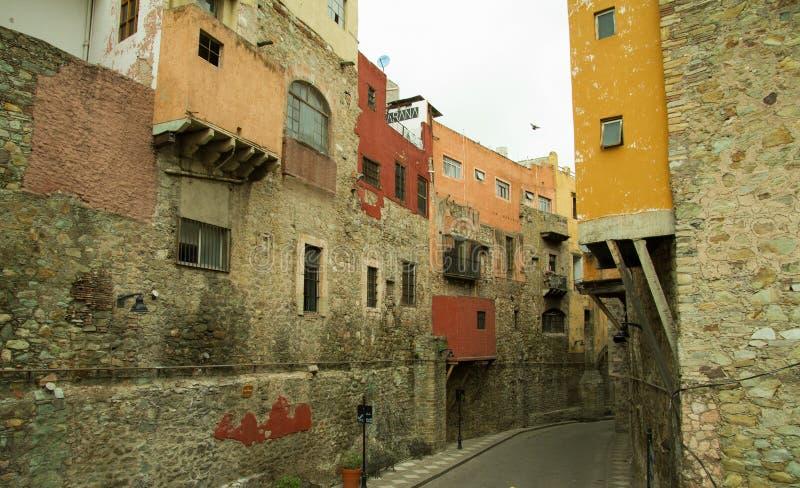 Strolling μέσω της αποικιακής πόλης Guanajuato στοκ φωτογραφίες με δικαίωμα ελεύθερης χρήσης