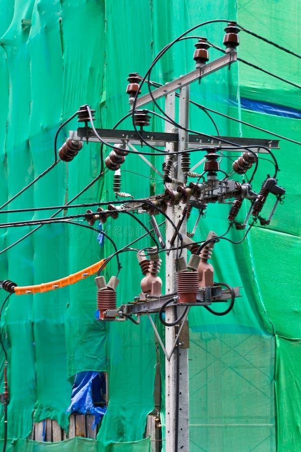 Strom durch einen Draht stockbild. Bild von aktuell, industrie ...