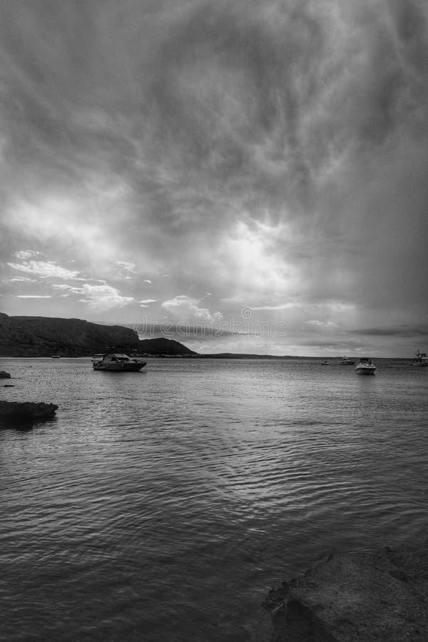 Strom moln fotografering för bildbyråer