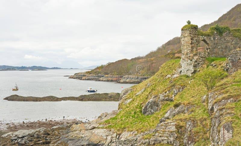 Download Strome Castle ruin. stock photo. Image of ancient, arch - 19209162