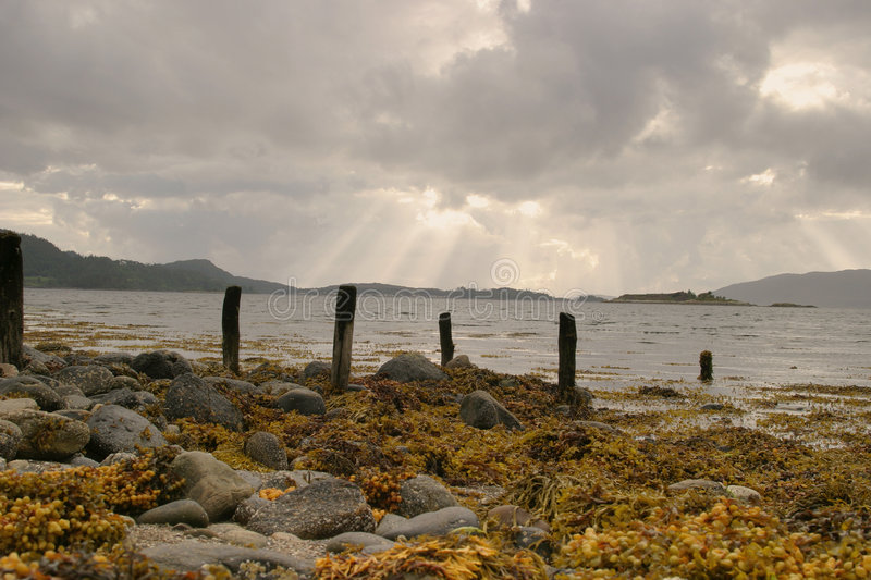 Download Stromeferry stock photo. Image of atlantic, islands, lochcarron - 1271176