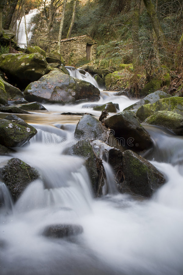 Stromend Water stock fotografie